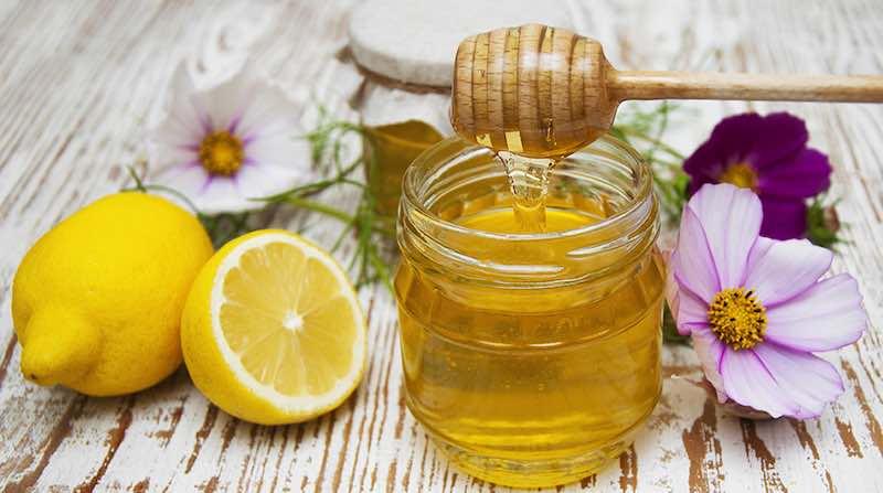 acqua e limone miele