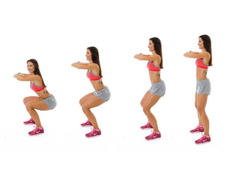 squat esercizio