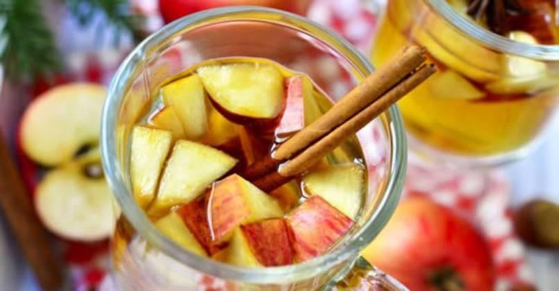 Infuso di mela e cannella