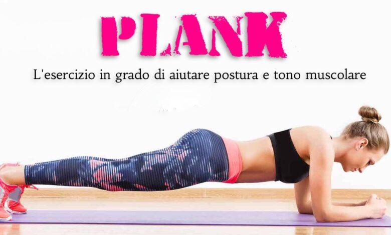 Come eseguire il plank