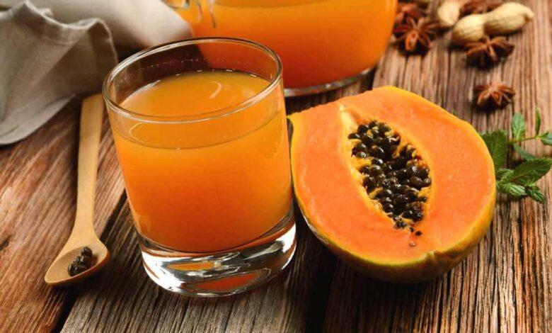 Rimedio naturale a base di papaya