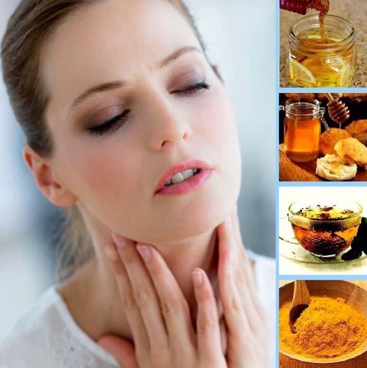 come curare il mal di gola in modo naturale