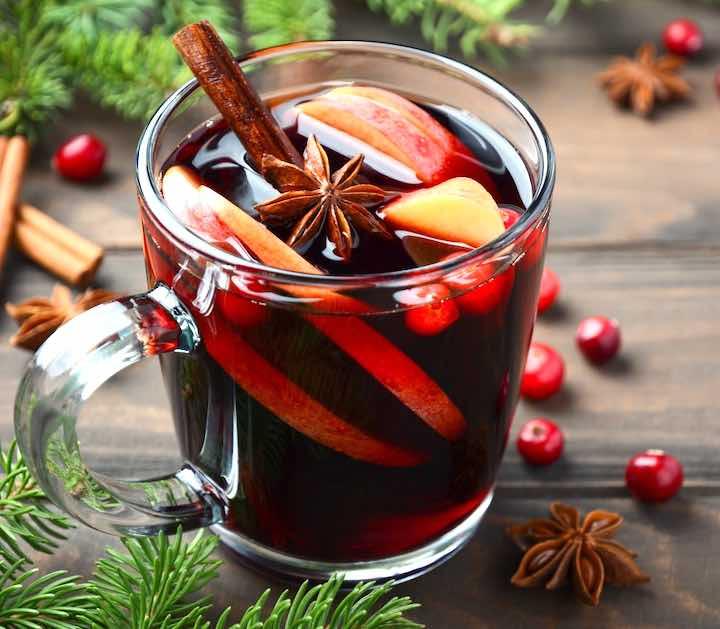 La ricetta del vino caldo con le spezie