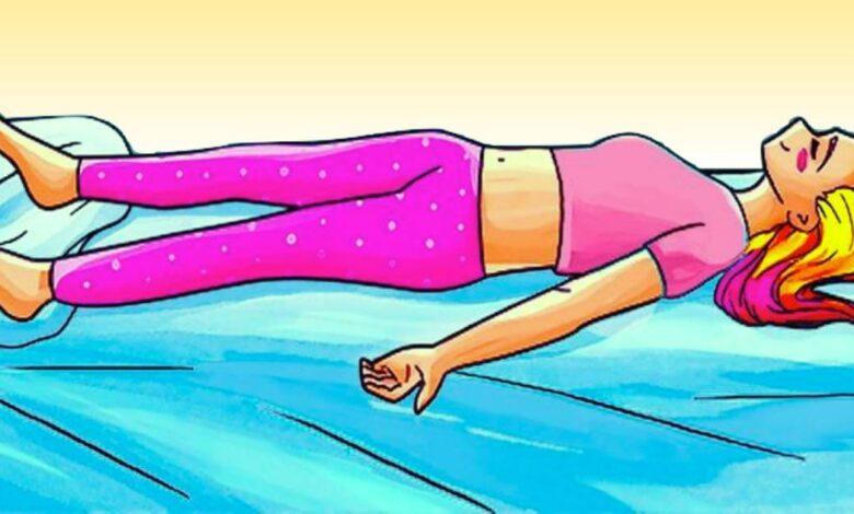 dormire senza cuscino