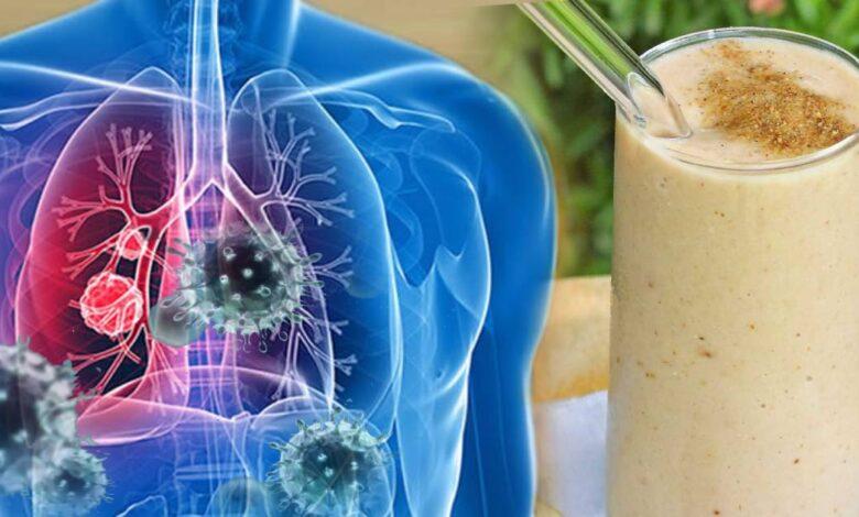 11 frullati che aiutano a rinforzare i polmoni