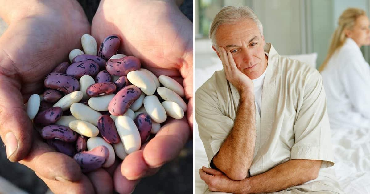 fagioli aiutano durante andropausa