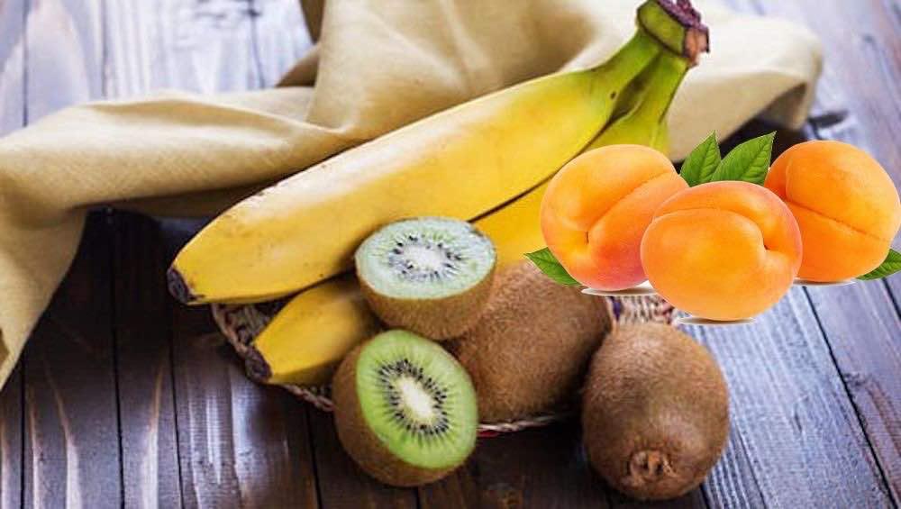 3 frutti amici del sonno sono albicocca kiwi banana